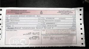 Oman Working Visa With Ticket. | Travel Agents & Tours for sale in Delta State, Oshimili South
