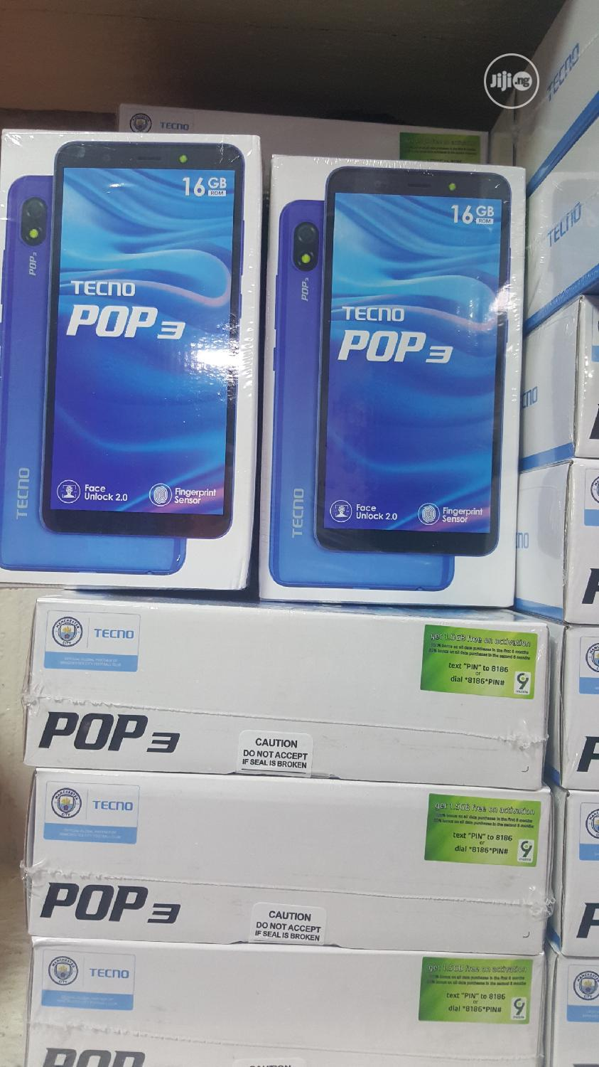 New Tecno Pop 3 16 GB Black | Mobile Phones for sale in Ikeja, Lagos State, Nigeria