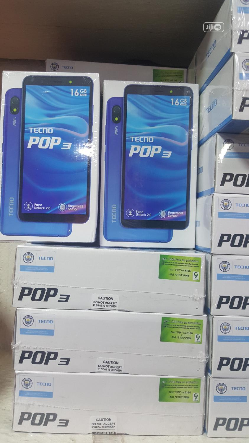 New Tecno Pop 3 16 GB Black
