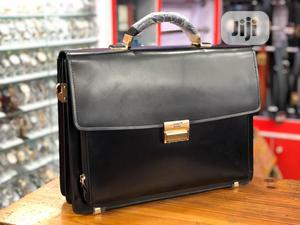 Leather Business Bag By Mont Blanc | Bags for sale in Lagos State, Lagos Island (Eko)