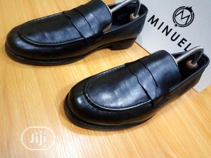 Black Leather Loafers With Penny | Shoes for sale in Lagos State, Mushin
