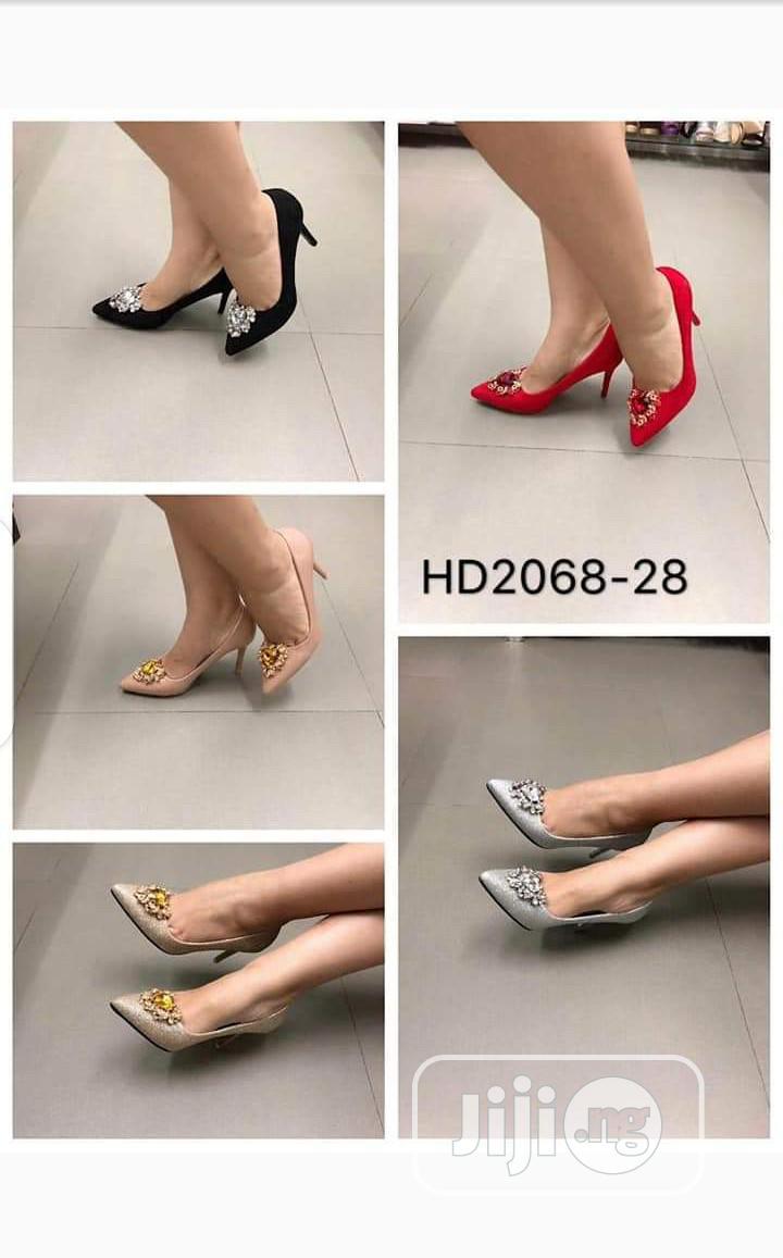 New Quality Female Pump Heel Shoes