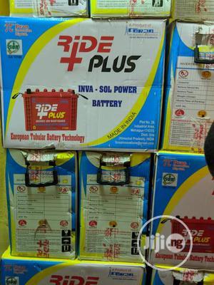 220ah/12v Ride Plus TUBULAR Battery   Solar Energy for sale in Lagos State, Ojo