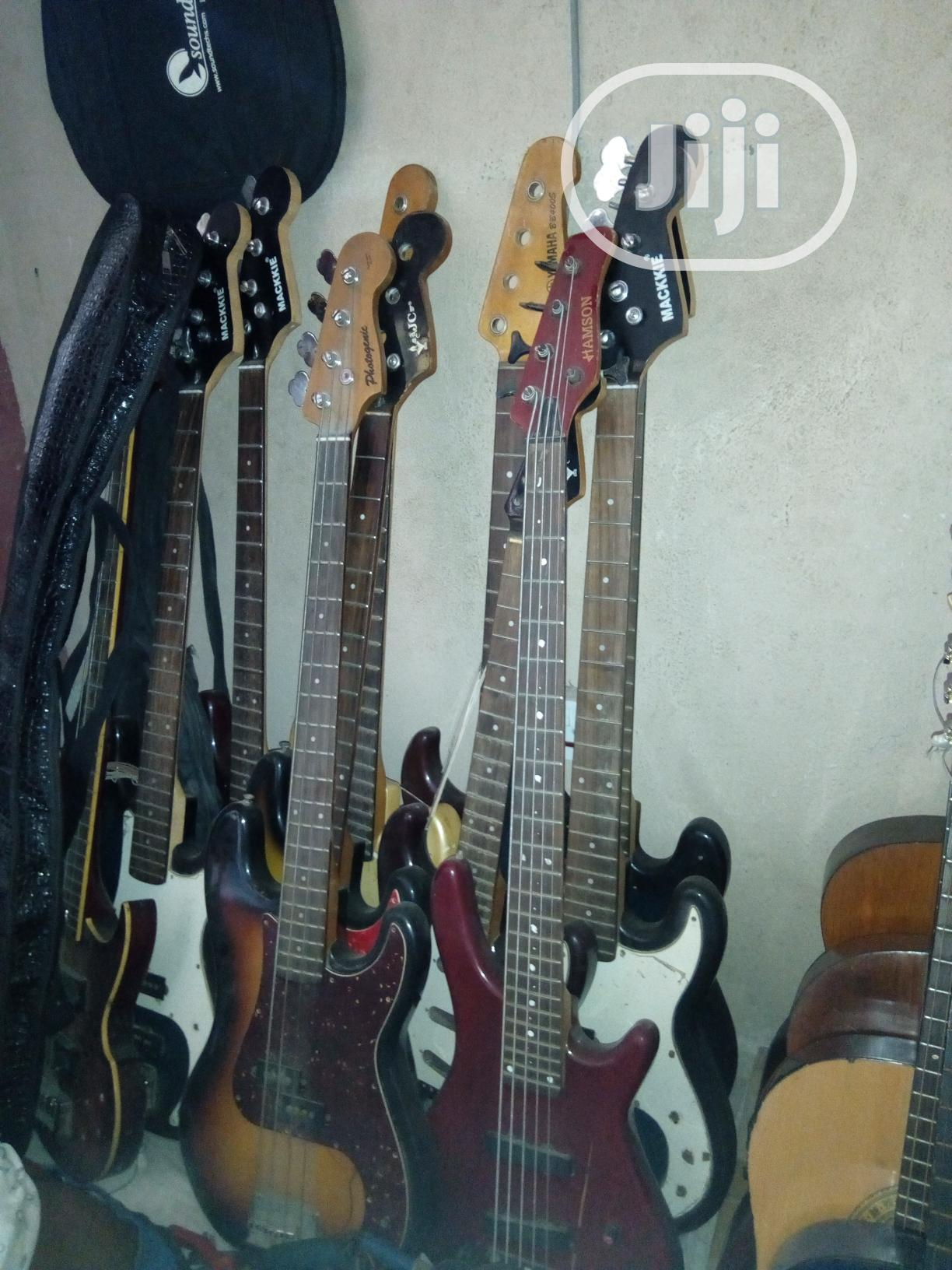 UK Active And Passive Bass Guitar | Musical Instruments & Gear for sale in Ojo, Lagos State, Nigeria