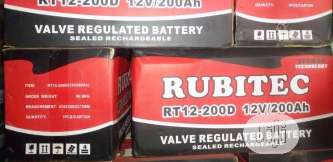 Rubitec 200ah 12v Battery