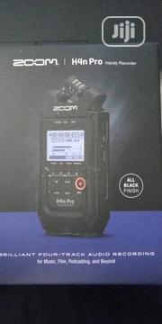Zoom H4n Pro 4-input / 4-track Portable Handy Recorder | Audio & Music Equipment for sale in Lagos State, Ojo
