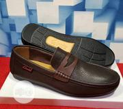 Quality Men's Clarks Designers Loafer Shoes in Deep Brown | Shoes for sale in Lagos State, Surulere