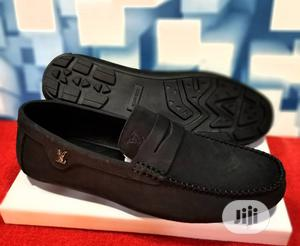 Quality Men's Louis Vuitton Designers Loafer Shoes in Black   Shoes for sale in Lagos State, Victoria Island
