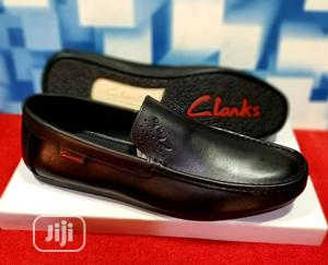 Quality Men's Clarks Designers Loafer Shoe In Black | Shoes for sale in Lagos State, Lekki