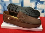 Quality Men's Louis Vuitton Designers Loafer Shoes in Brown | Shoes for sale in Lagos State, Lekki Phase 2