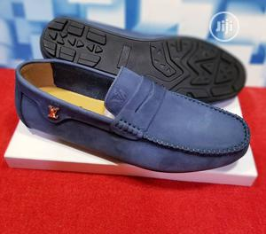 Quality Men's Louis Vuitton Designers Loafer Shoes In Blue   Shoes for sale in Lagos State, Ajah