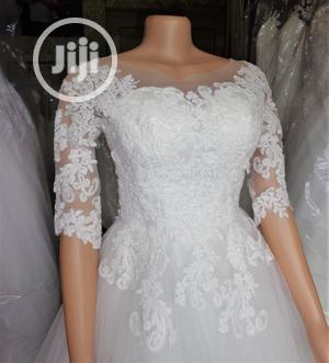 Ball Wedding Gown For Rent With Veil,Basket, Tiara Bouquet | Wedding Venues & Services for sale in Lagos State, Magodo