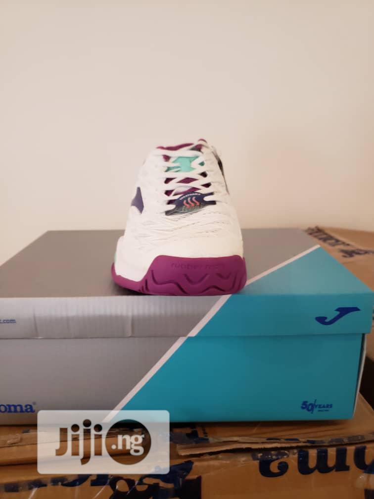 Joma - White, Pink, Nelon Blue Sneakers