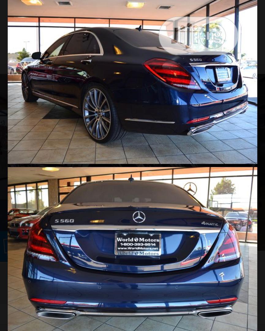 New Mercedes-Benz S Class 2018 Blue