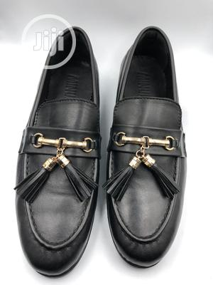 Brown Leather Loafers With Gold Horse Bit and Tassel   Shoes for sale in Lagos State, Mushin