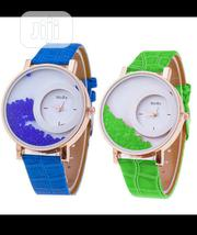 Hot Relogio Women's Rhinestone Wrist Watch - Blue & Green | Watches for sale in Lagos State