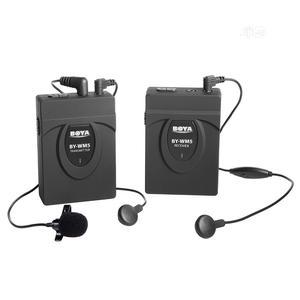 BOYA By-wm5 Wireless Lavalier Microphone System For Canon Nikon Sony | Audio & Music Equipment for sale in Lagos State, Lagos Island (Eko)