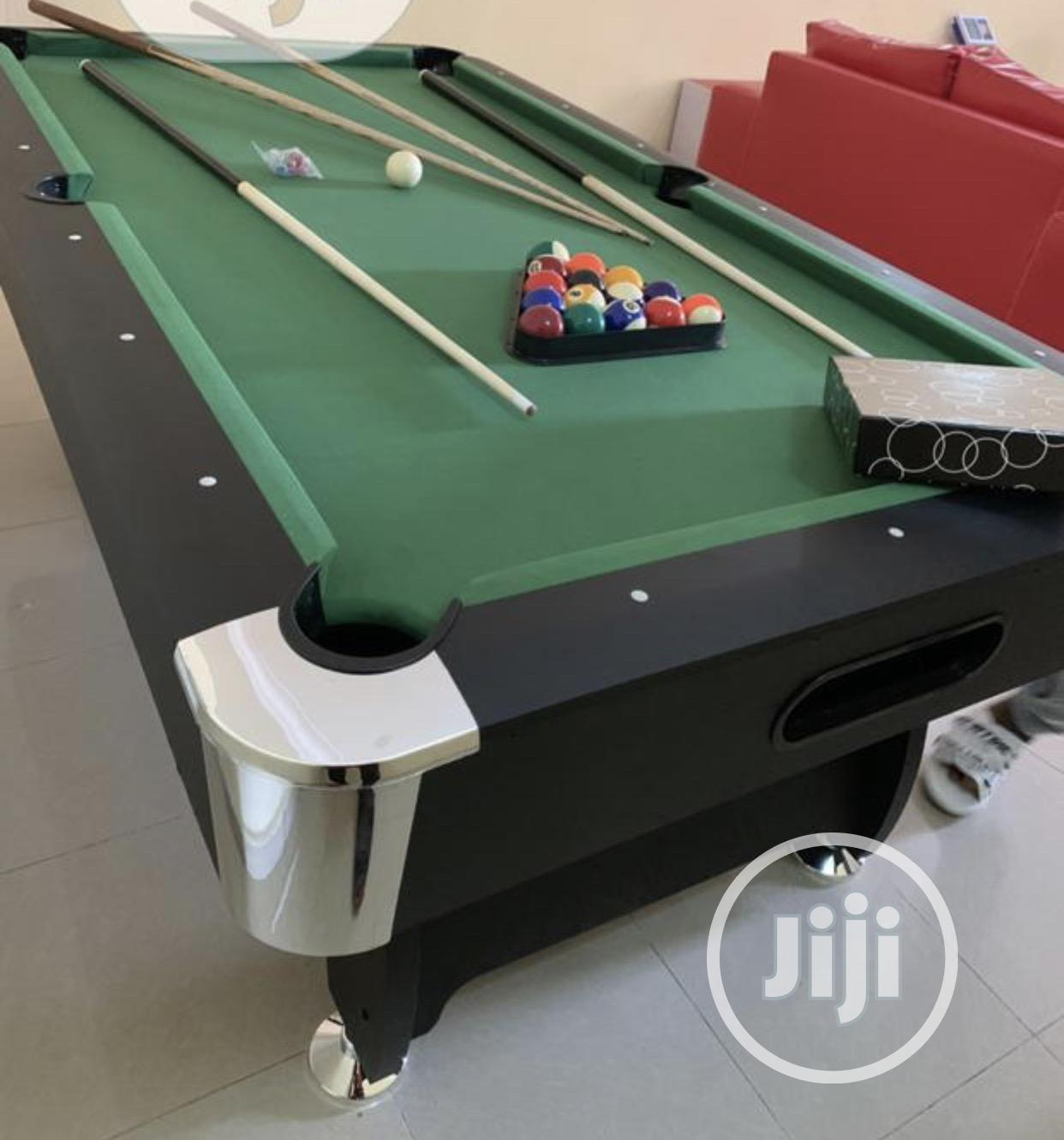 Imported Snooker Table With Double Accessories