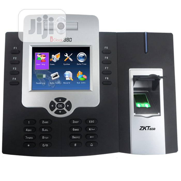 Zkteco Iclock 880 Access Control And Time & Attendance Reader