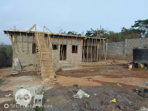 Full Fence 2 Plot of Land With Uncompleted Building for Sale | Land & Plots For Sale for sale in Ogun State, Obafemi-Owode