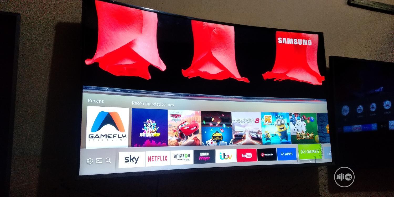 "Archive: 49"" Samsung Curve Smart Uhd 4K Hdr Tizen OS TV"