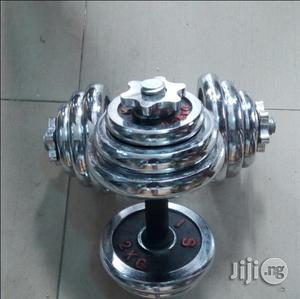Dumbbell 40 Kg   Sports Equipment for sale in Rivers State, Port-Harcourt