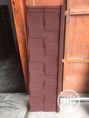 Original Newzealand Stone Coated Sheets (Red Shingle) | Building Materials for sale in Lagos State, Magodo