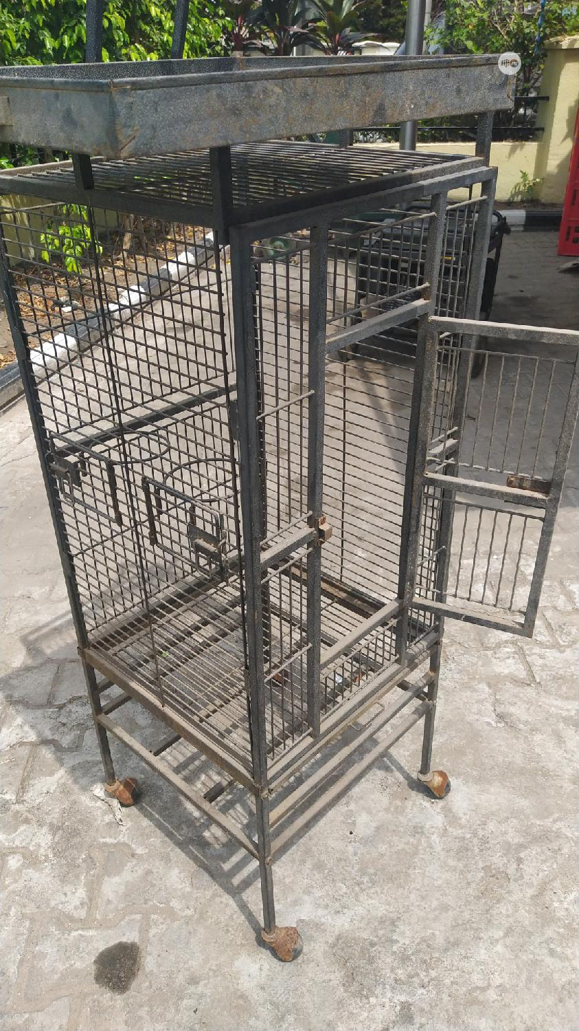 Used Parrot Imported Big Cage | Pet's Accessories for sale in Lekki Phase 1, Lagos State, Nigeria