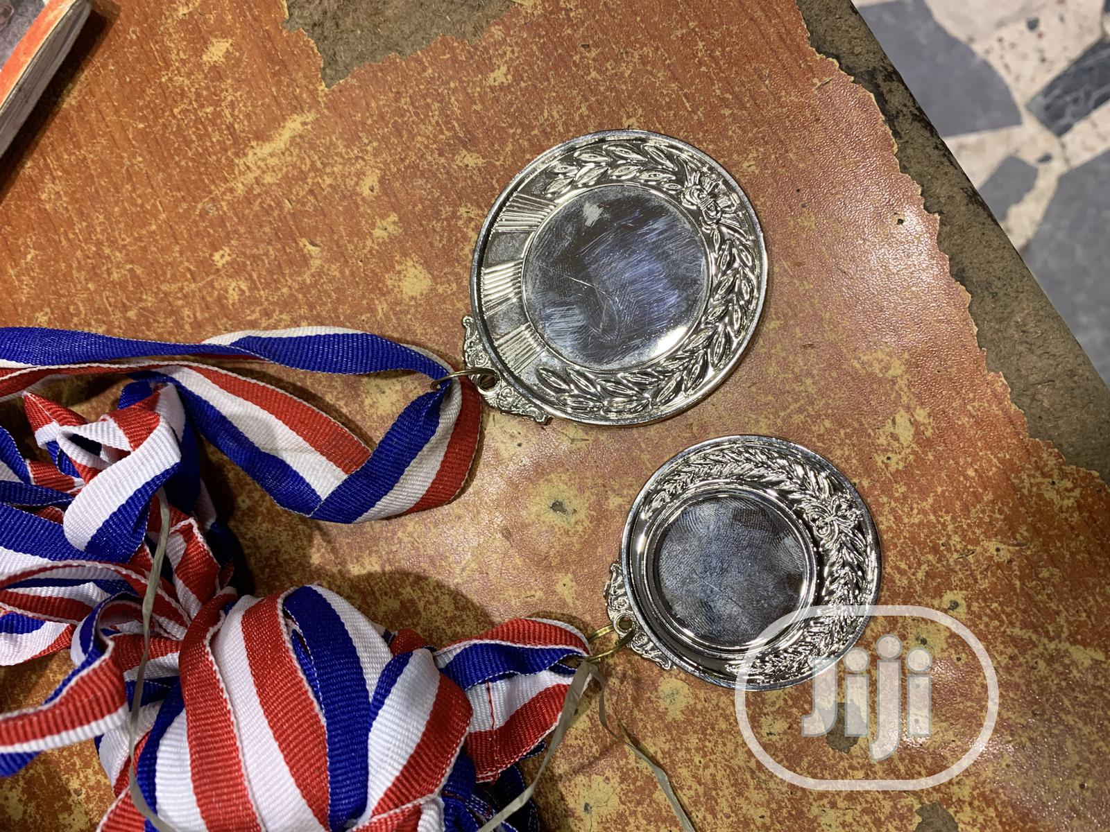 Gold Medal With Print