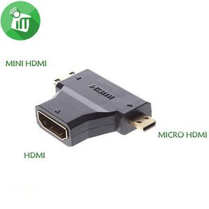 Mini & Micro Hdmi To Hdmi Adapter | Computer Accessories  for sale in Lagos State, Ikeja