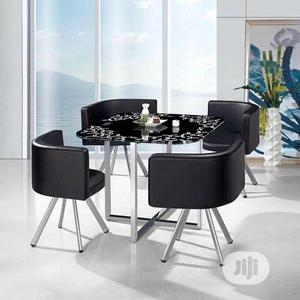 High Quality Unique Design Restaurant Restaurant Tables With 4 Chairs   Furniture for sale in Lagos State, Ikeja