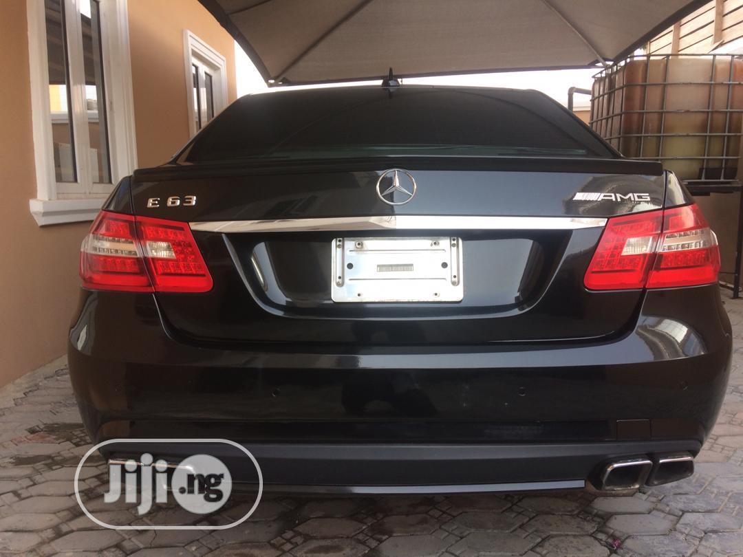 Mercedes-Benz E63 2012 Black