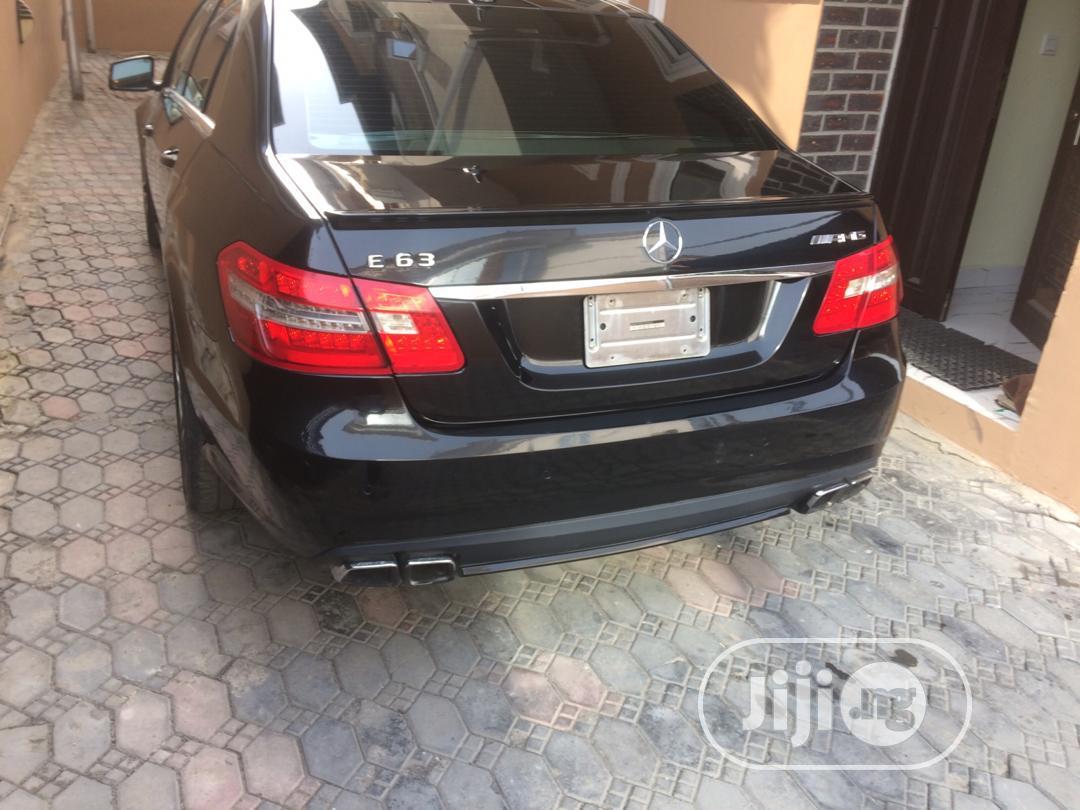 Mercedes-Benz E63 2012 Black | Cars for sale in Ibeju, Lagos State, Nigeria