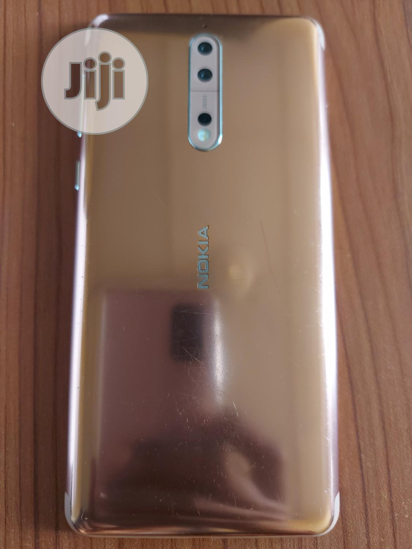 Nokia 8 64 GB Gold | Mobile Phones for sale in Oshodi, Lagos State, Nigeria