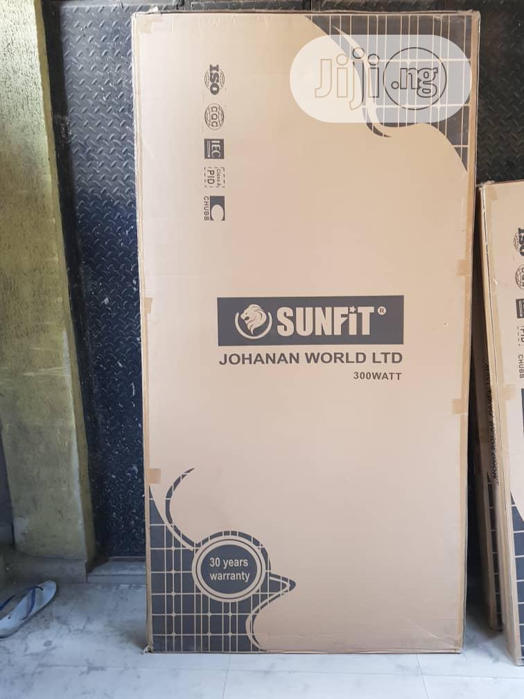 300w Mono Sunfit Solar Panel