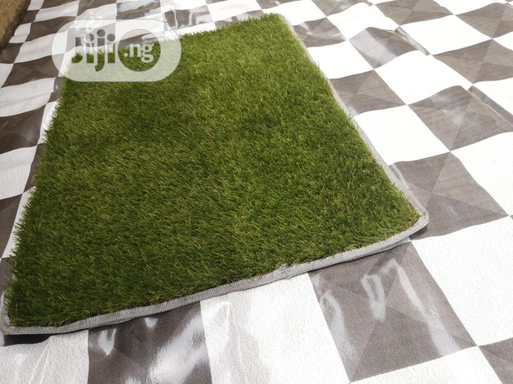 Olive Green Carpet Grass Foot Mats Available For Shops And Stalls