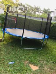14feet Trampoline With Ladder | Sports Equipment for sale in Lagos State, Lagos Island