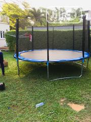 14feet Trampoline With Ladder | Sports Equipment for sale in Lagos State, Magodo