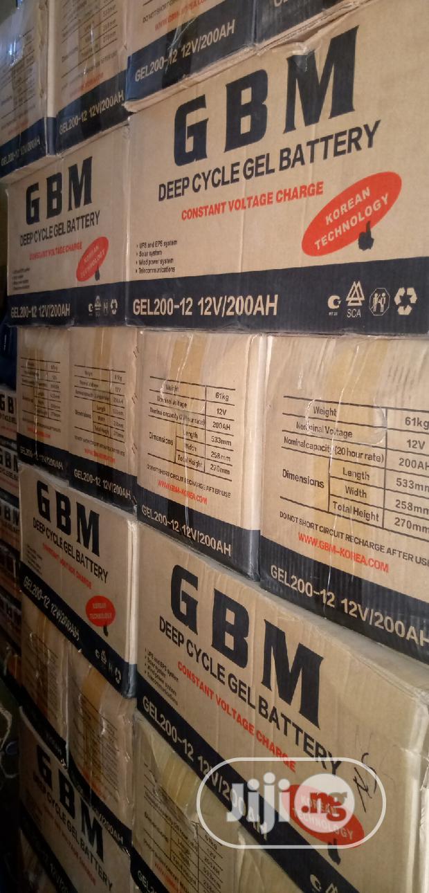 200ahs/12volt GBM Inverter Battery