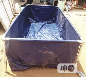 Solid Tarpaulin Fish Pond.   Farm Machinery & Equipment for sale in Anambra State, Nnewi