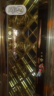 4ft Golden Glass Door | Doors for sale in Lagos State, Ikeja
