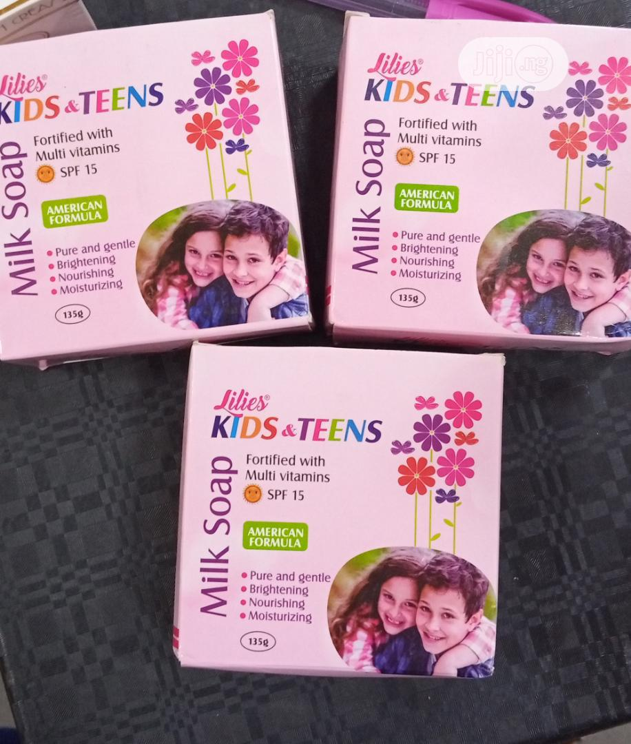 Lilies Kids And Teens Soap