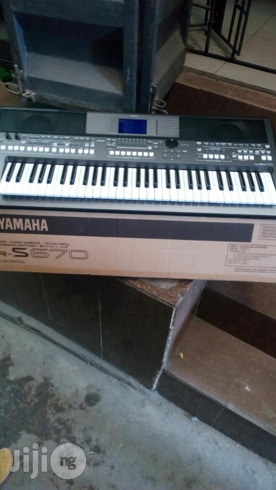 Yamaha Keyboard   Musical Instruments & Gear for sale in Lagos State, Nigeria
