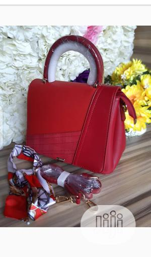 New Female Red Leather Shoulder Handbag | Bags for sale in Lagos State, Amuwo-Odofin