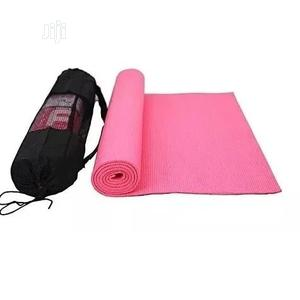 Yoga Exercise Mat Pink   Sports Equipment for sale in Lagos State, Surulere