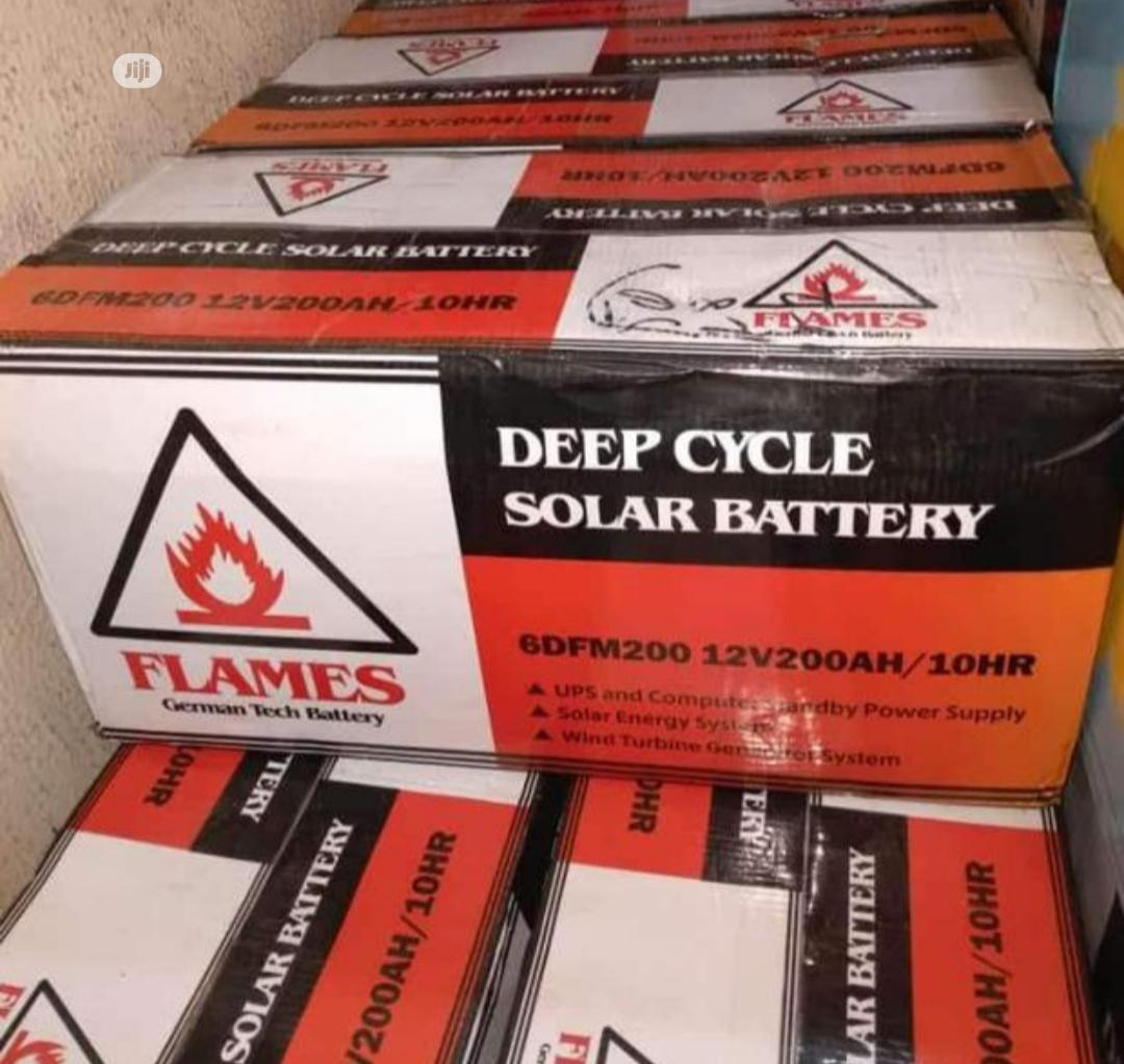 Flames 200ah 12v Battery