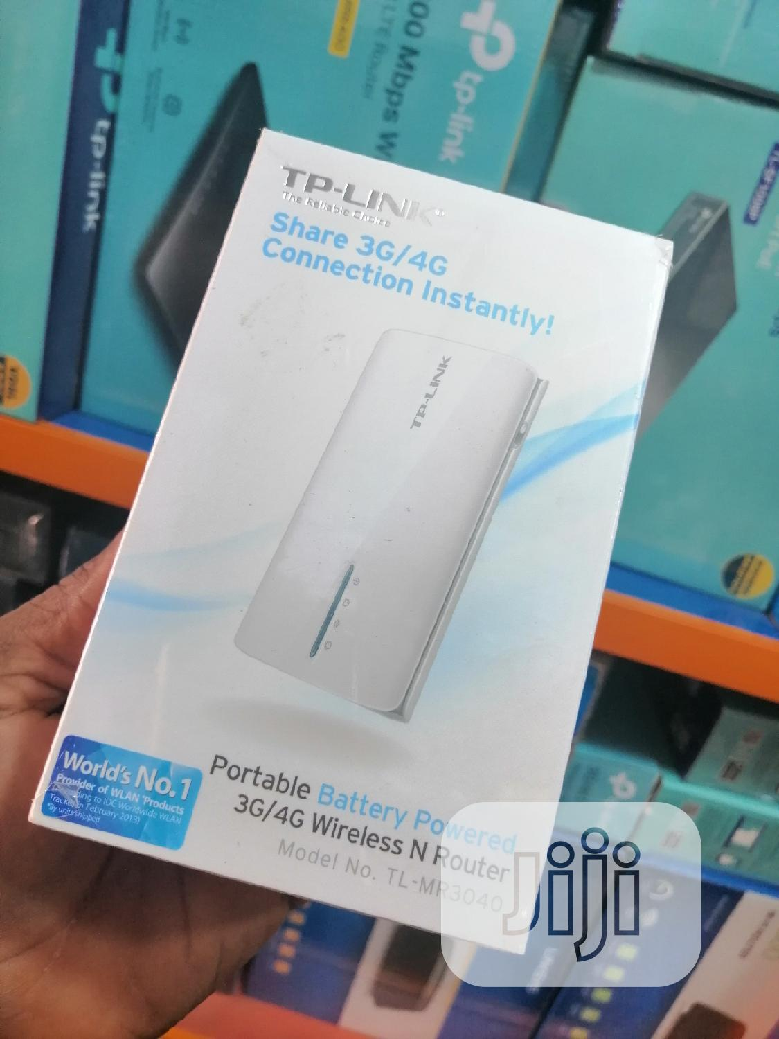 Tp-link Portable 3G/4G Wireless N Router TL-MR3040