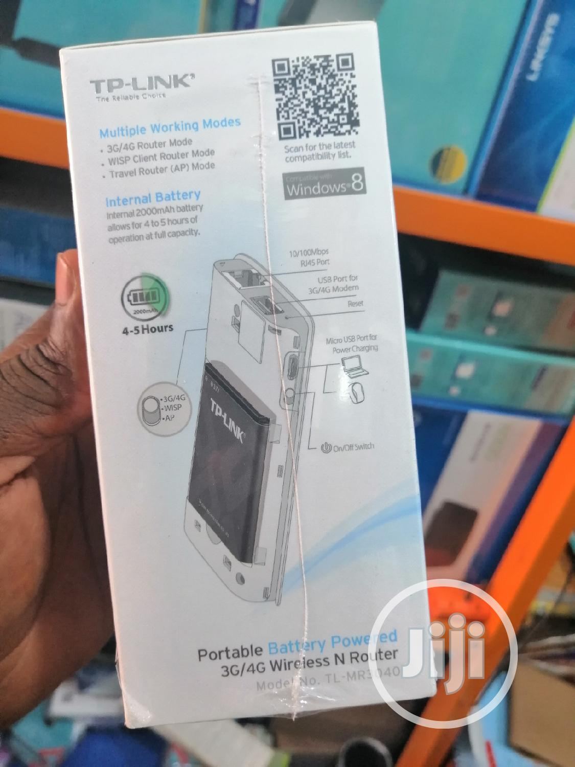 TL-MR3040 Tp-link Share 3G/4G Wireless N Router | Networking Products for sale in Ikeja, Lagos State, Nigeria