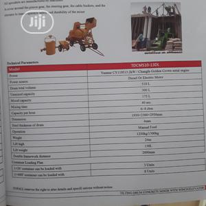 510 Liter Crane Concrete Mixer.   Electrical Equipment for sale in Lagos State, Lagos Island (Eko)