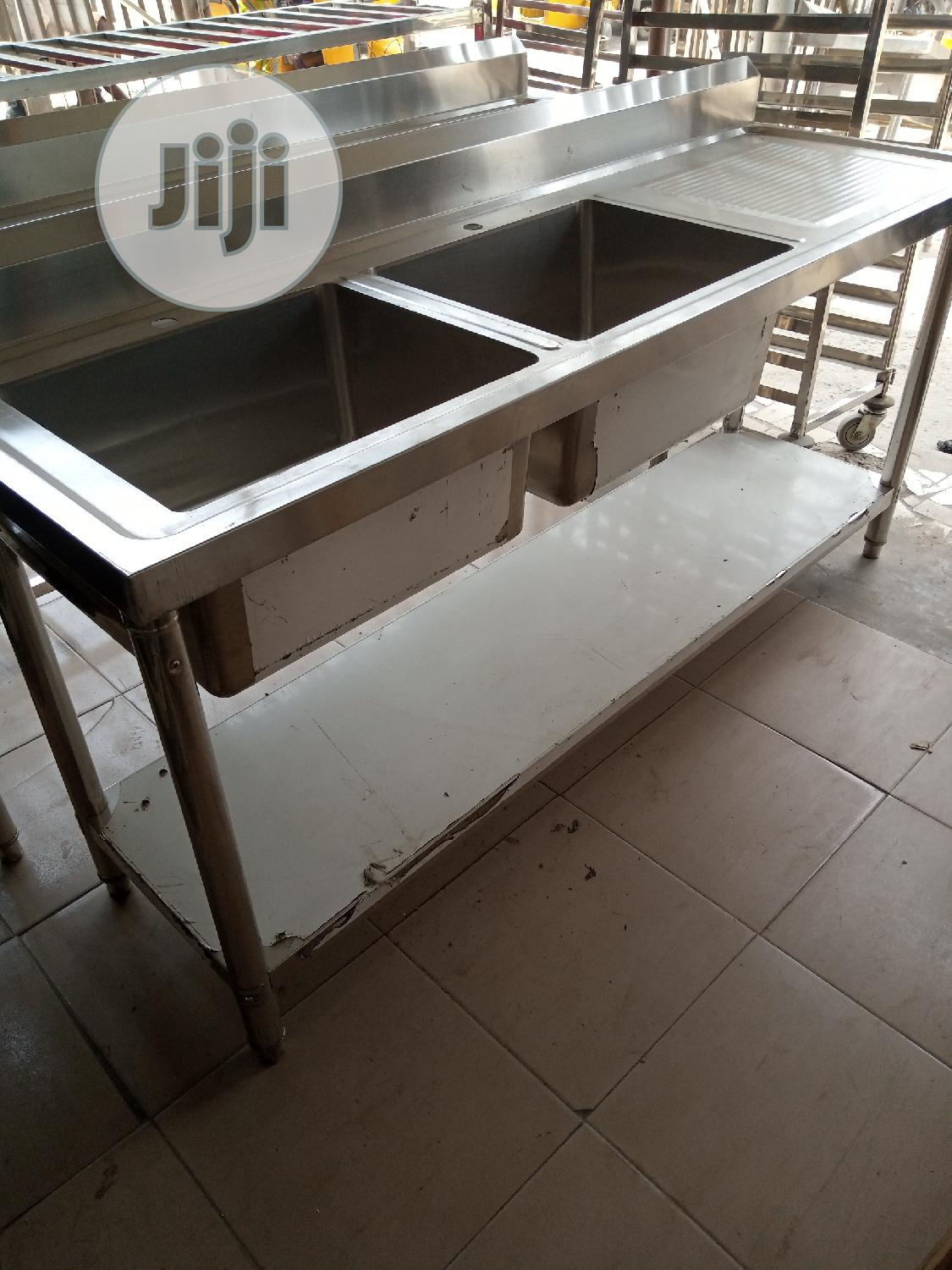High Quality Industrial Double Sink